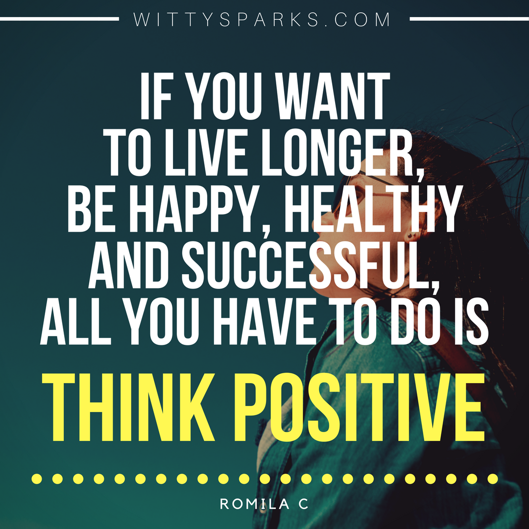 Think Positive - Formula of Success