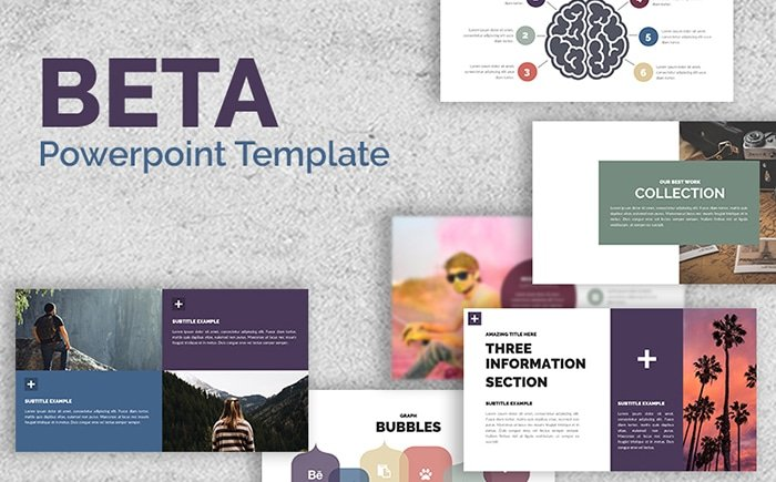 BETA - PowerPoint Template