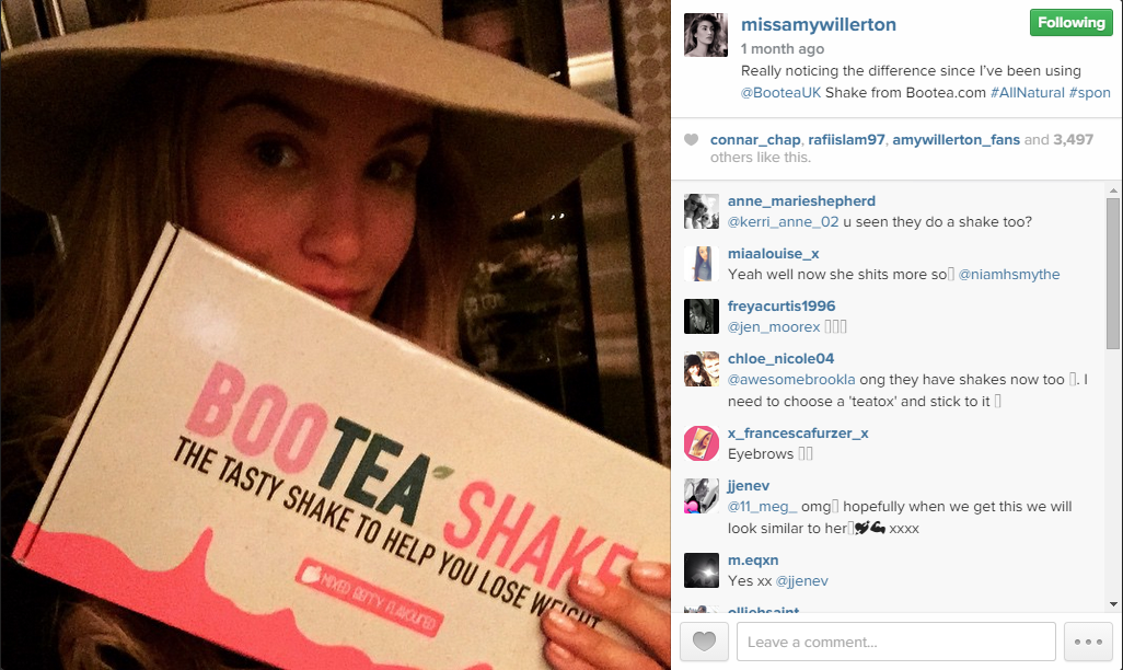 BooTea Shake - Amy Willerton