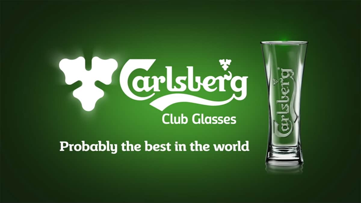 Carlsberg - Club Glasses - Probably the best in the World