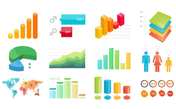 Charts and Infographics - PowerPoint Templates