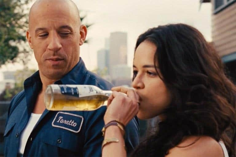 Vin Diesel and Michelle Rodriguez