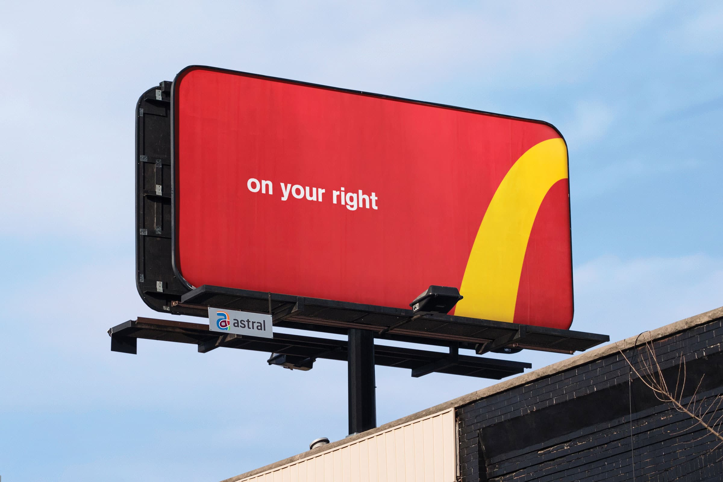 McDonalds - Billboard - Advertising