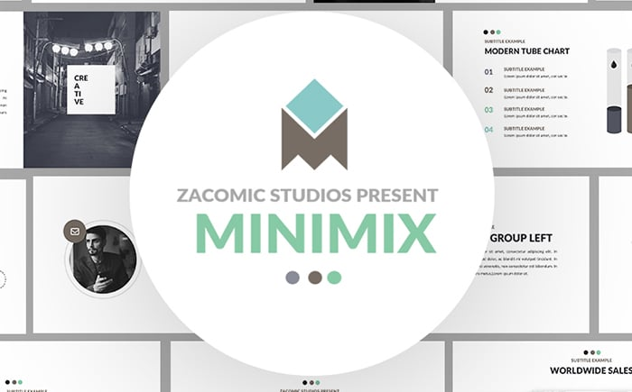MiniMix Media - PowerPoint Template