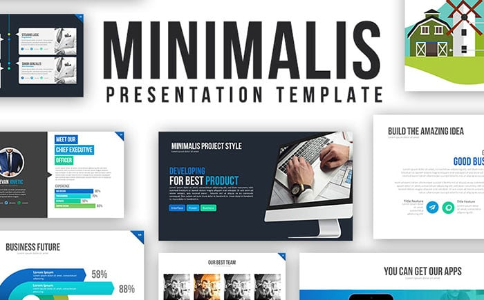 Minimalis PowerPoint - Presentation Template