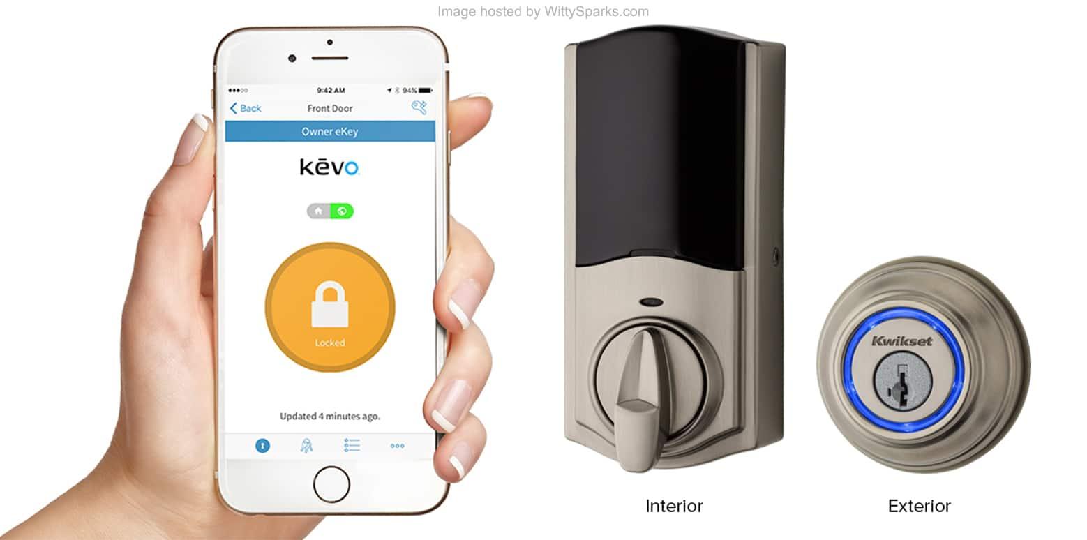 KwikSet - Smart Lock Kevo - Touch to Open Bluetooth Lock