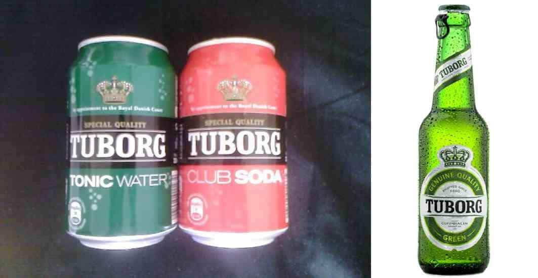 Special Quality - Tuborg Brewery - Club Soda - Tonic Water