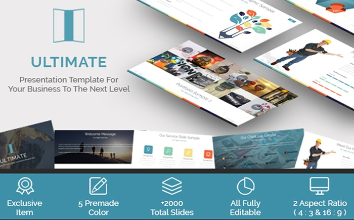 Ultimate - Business PowerPoint Template