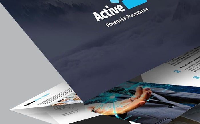 Active - Video and Audio PowerPoint Template