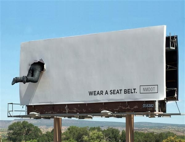 Wear A Seat Belt - Billboard
