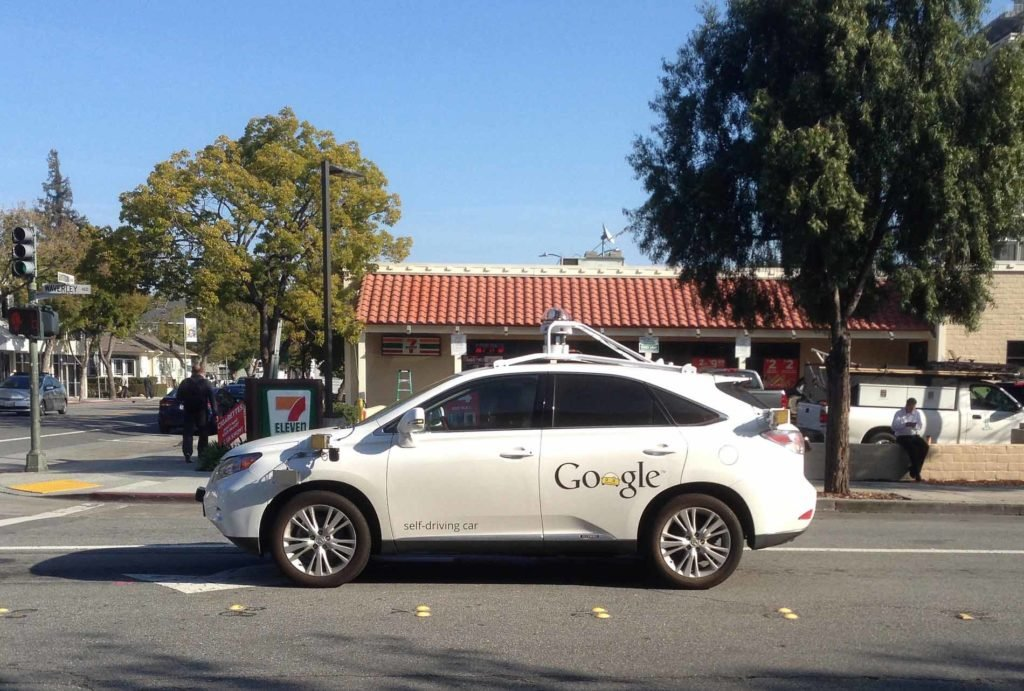 Self-driving Car - Google - Photo: Flickr: Ed and Eddie