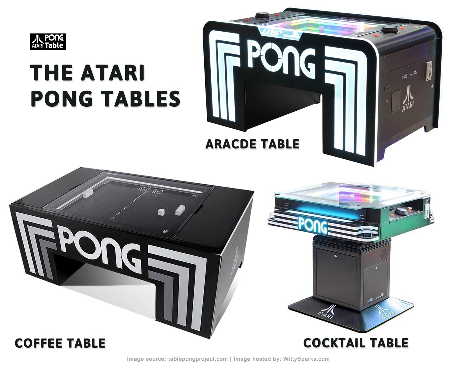 Atari Pong Tables