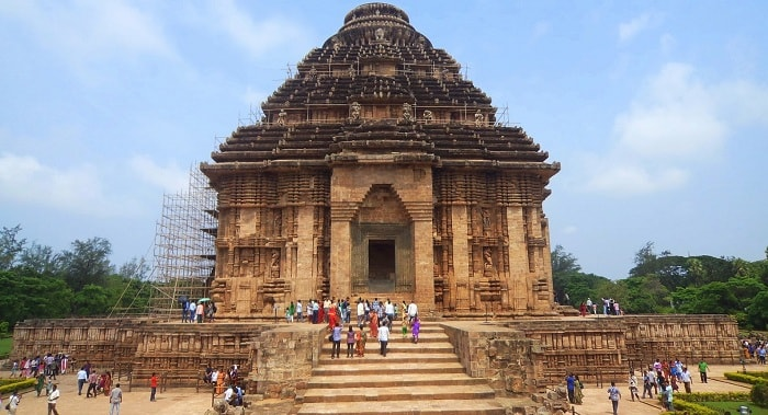The Sun Temple at Konark, Orissa