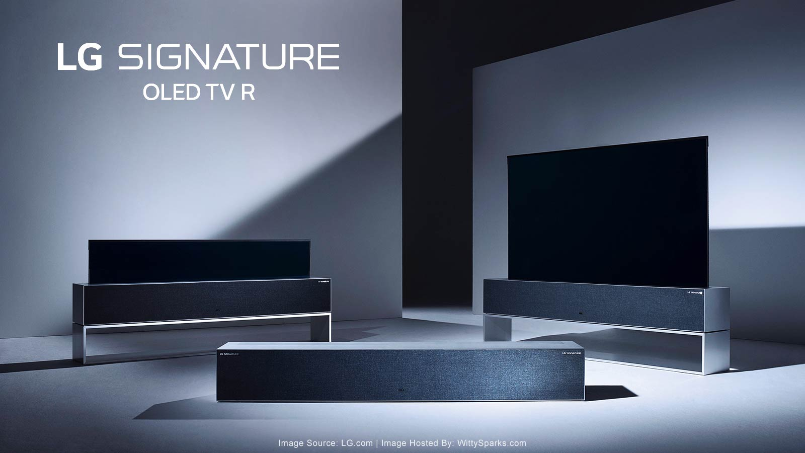 LG Signature Rollable OLED TV R9 - 4K HDR Smart TV