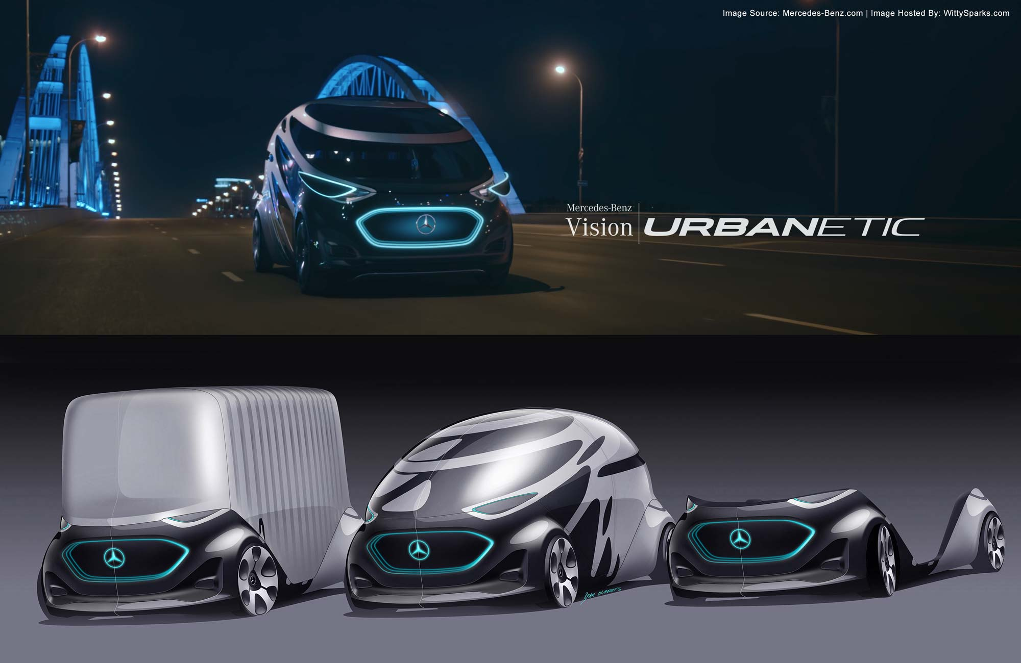 Mercedes-Benz - Vision Urbanetic - The mobility of the future.