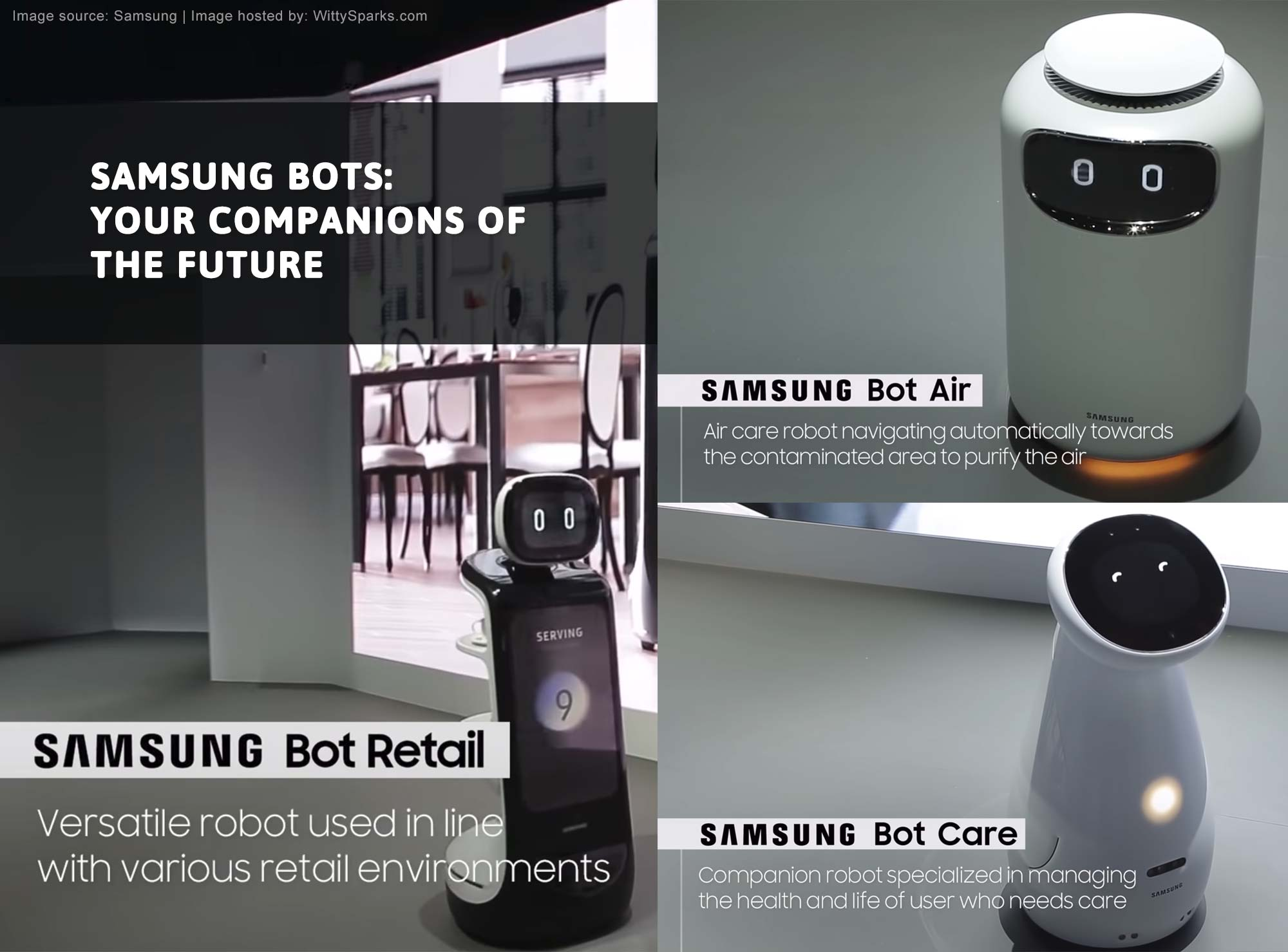 Samsung Bots - Retail, Air, Care
