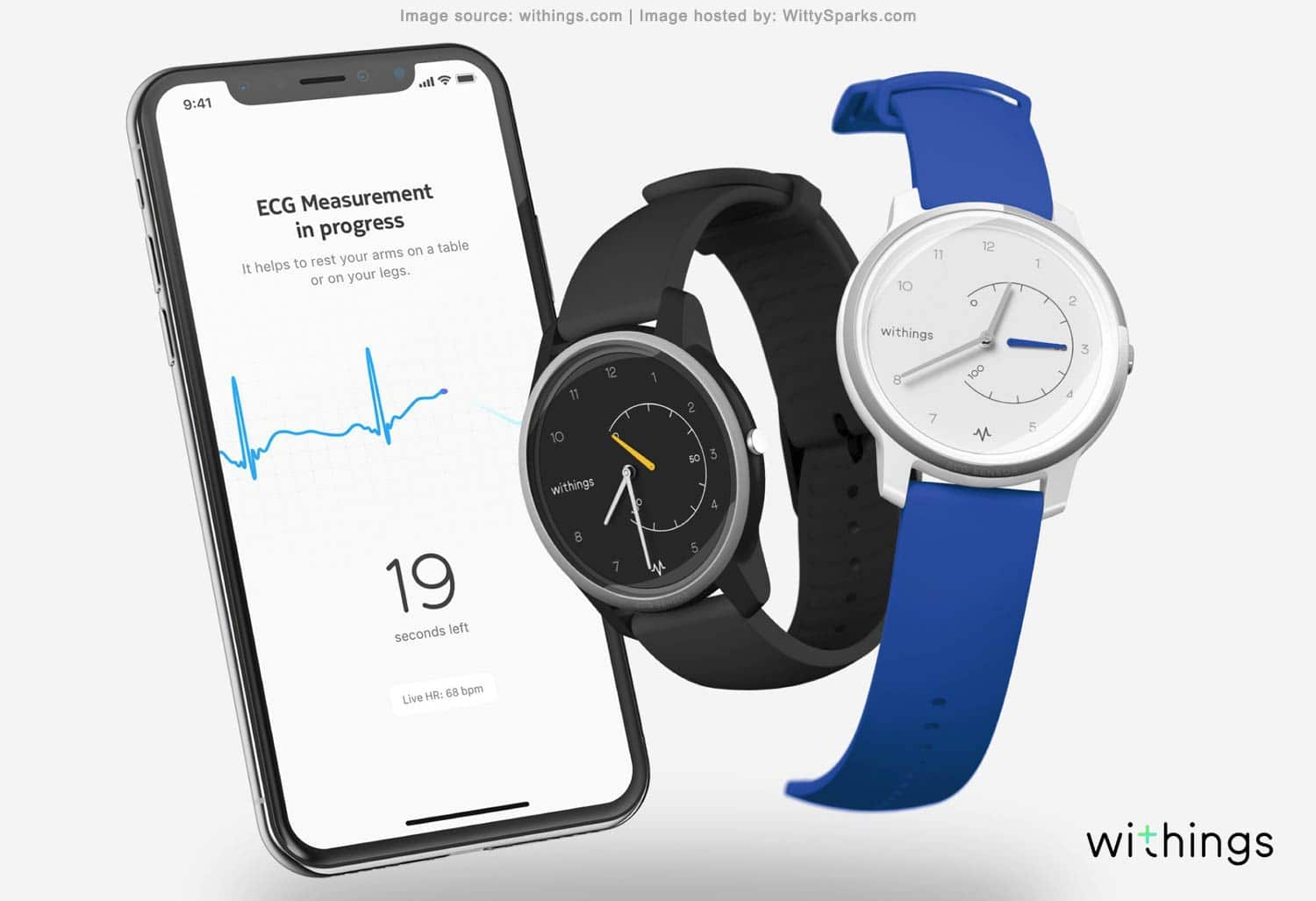Move ECG - ECG Monitor & Activity watch - Withings